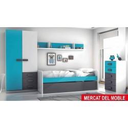 Dormitorio Grafito